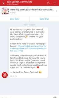 THANK YOU, CAROUSELL ❤️