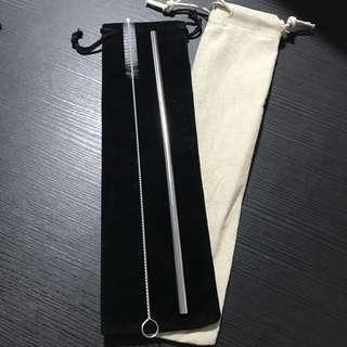 [PROMOTION] INSTOCKS 3 PC SET Metal Straw Set