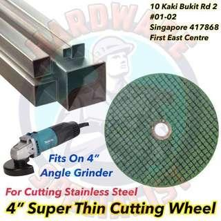 """4"""" Stainless Steel Cutting Wheel"""