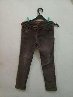 Brown LOGO Jeans
