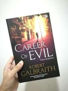 Career of Evil / Robert Galbraith / Paperback / Bahasa Indonesia