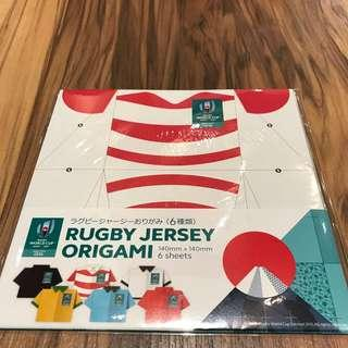 Rugby World Cup Origami 日本世界盃摺紙套裝