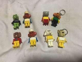 LEGO fabuland Figure Lot