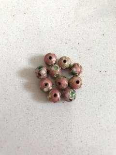 🍄BN Flower design beads
