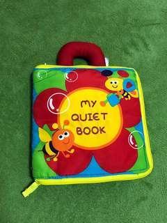 Preloved good condition my quiet book