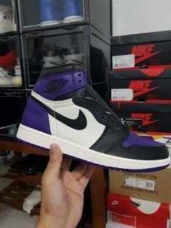 US9 Jordan 1 court purple