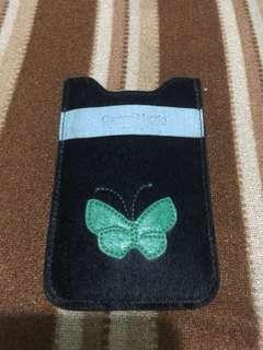 Cellphone or card holder genuine leather