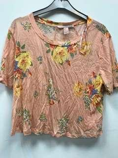 Forever 21 flora tee