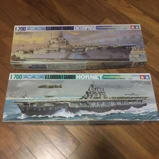 TAMIYA HORNET AND ENTERPRISE (US carrier)