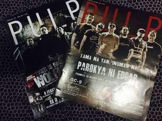Pulp Magazine Bundle (Wolfgang and Parokya ni Edgar cover)