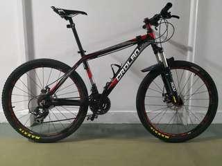CROLAN bike (upgraded parts)