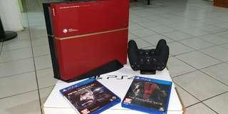Modded (JB)PS4 500gb Limited Edition(Metal Gear Solid V: The Phantom Pain)