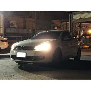 【FB搜尋新桃園阿承】福斯 超人氣GOLF TSI 2011年 1.4 白色 二手車 中古車