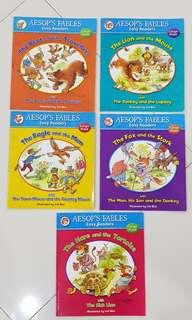 Aesop's Fables Easy Readers