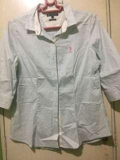 Sale u.s polo assn.3/4 blouse