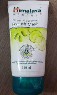 Himalaya Almond & Cucumber Peel Off Mask #YasmeenRazakFam
