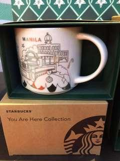 Starbucks Manila and Philippines 2018 Christmas You Are Here Mug and Tumblers
