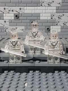Harry Potter Minifigures (Transparent clear)