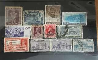 Indian old stamps