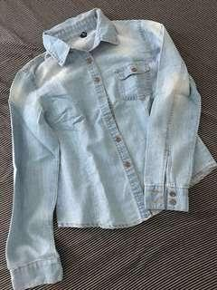 Soft Denim Buttondown