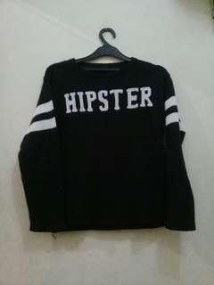 Hipster Black Sweater