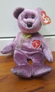 🚚 Ty beanie babies (2000 Signature bear)