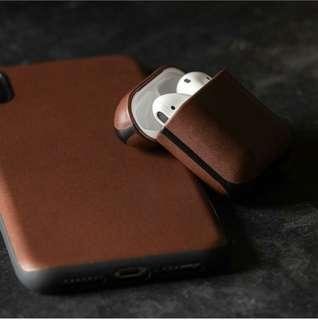New Airpods leather case