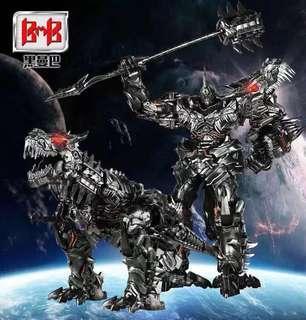 Transformers Black Mamba BMB - LS-05 LS05 Ancient Leader (aka Upsized TLK Studio Series SS-07 Grimlock) (MISB) plus One Free Autobot Decal Sticker Sheet