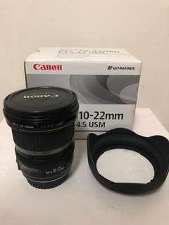 Canon EFS 10-22mm USM