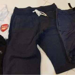 Used Tee Shirt,Soccer Arsenal Nike Polo , Shorts
