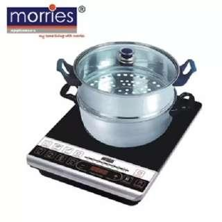 Morris Induction Cooker with two tier pot
