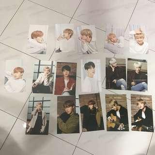 WTS BTS x Mediheal Postcards