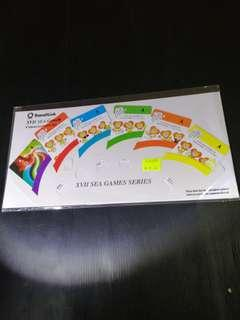 TransitLink XVII Sea Games Commemorative Sets Ezylink Card