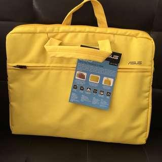 Asus Eos Yellow Laptop Bag with Strap