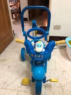 兒童式折疊三輪車-新幹線