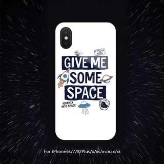 Give Me Some Space iPhone Casing Case