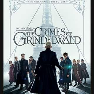 Giveaway: Ticket to Movie Fantastic Beasts: The Crimes of Grindlewald #Blessing