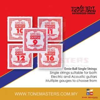 Ernie Ball 10XX Series Single Electric / Acoustic Guitar String