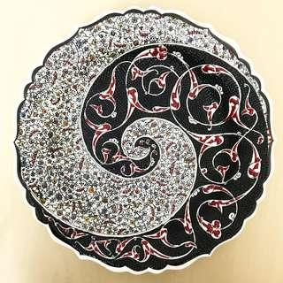 HA1 Turkish Ceramic Plate High Quality