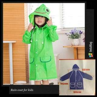🚚 *INSTOCK* Children Raincoat