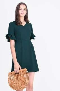 🚚 BN Fayth Min Flutter Sleeve Dress
