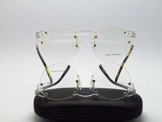 Frame Transparan bulat