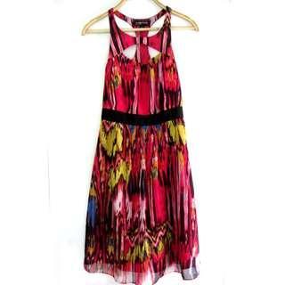 Rampage Print Dress