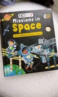 Factivity lift the flap mission in space
