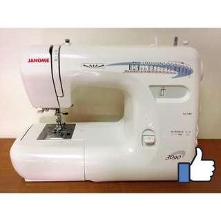JANOME車樂美3090家用縫紉機