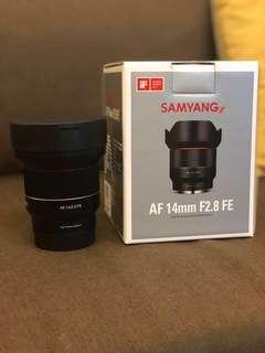 Samyang AF 14mm F2.8 FE E-mount autofocus