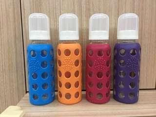 Life Factory Glass Milk Bottle (4 pieces)