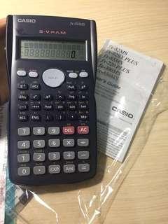 工程計算機casio