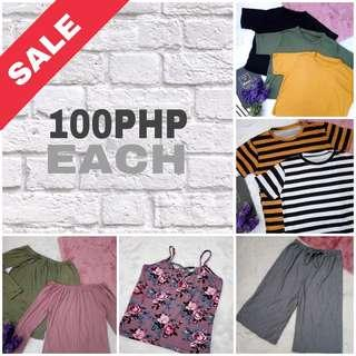 Anything for 100php each (New Items)