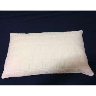 Cut memory foam pillow